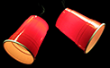 Red Solo Cup Party String Lights - 10 Lights - UL1882