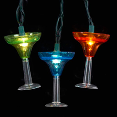 UL3503 | Margarita Glass Party String Lights