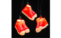 Red High Top Sneaker Party String Light - UL4239
