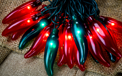 Red and Green Chili Pepper Lights - 10 Lights CN-35XMAS