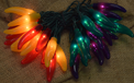 Red, Green, Yellow and Purple Chili Pepper Lights - 10 Lights CN-RYGP