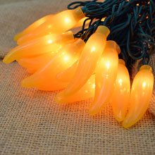 Yellow Chili Pepper Lights - 10 Lights CN-35YEL