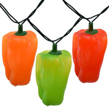 Bell Pepper Novelty Party String Lights