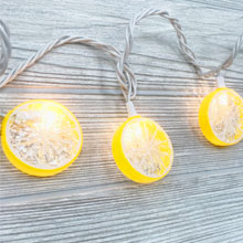 Lemon Party String Lights - 8.5 ft. DE-10835