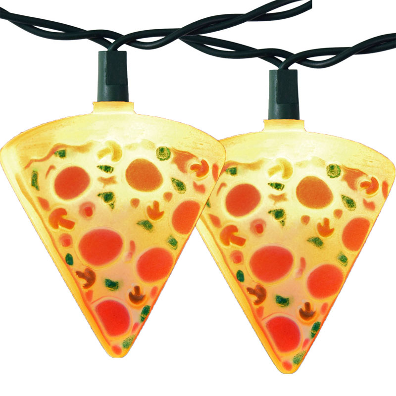 Pizza Slice Party String Lights