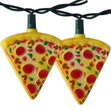 Pizza Lice Party String Lights