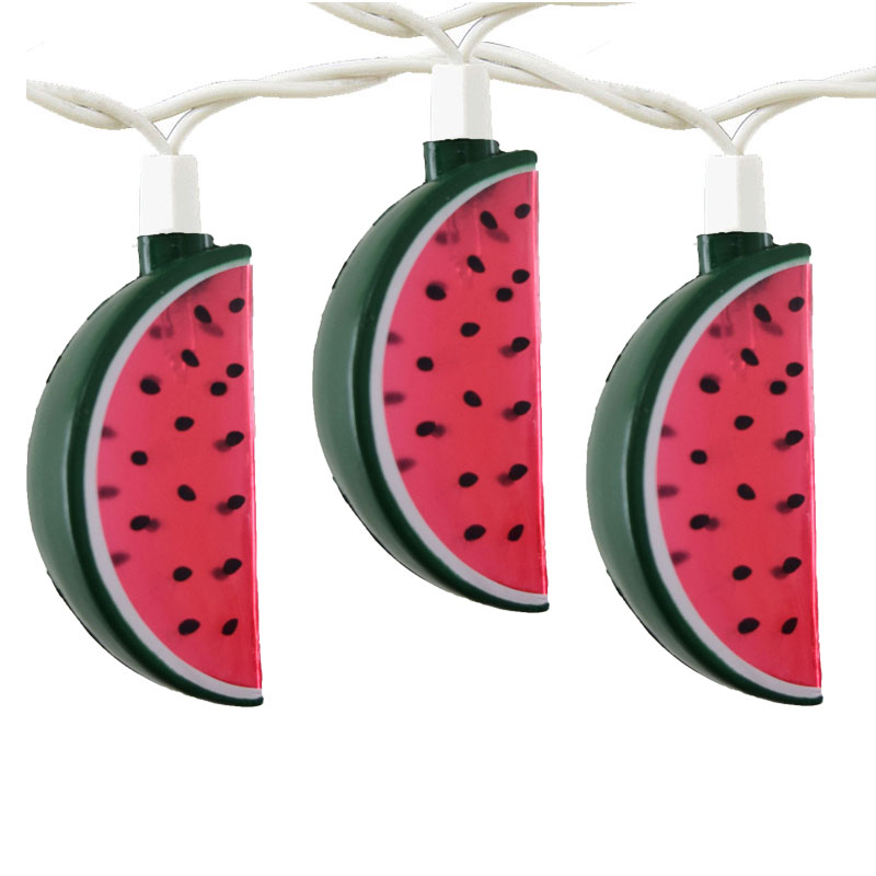 watermelon party string lights, watermelon lights