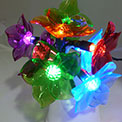 8 Battery Operated Acrylic Flower Light Set - GC1741170