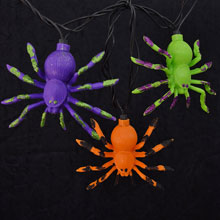 Multi Color Halloween Spider Party Lights