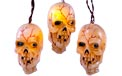 Battery Operated Musical Skull Party String Lights