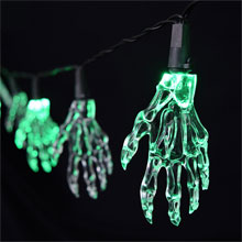 Halloween Skeleton Hand String Lights