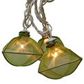 Shimmery Green Gems Party String Lights - L722