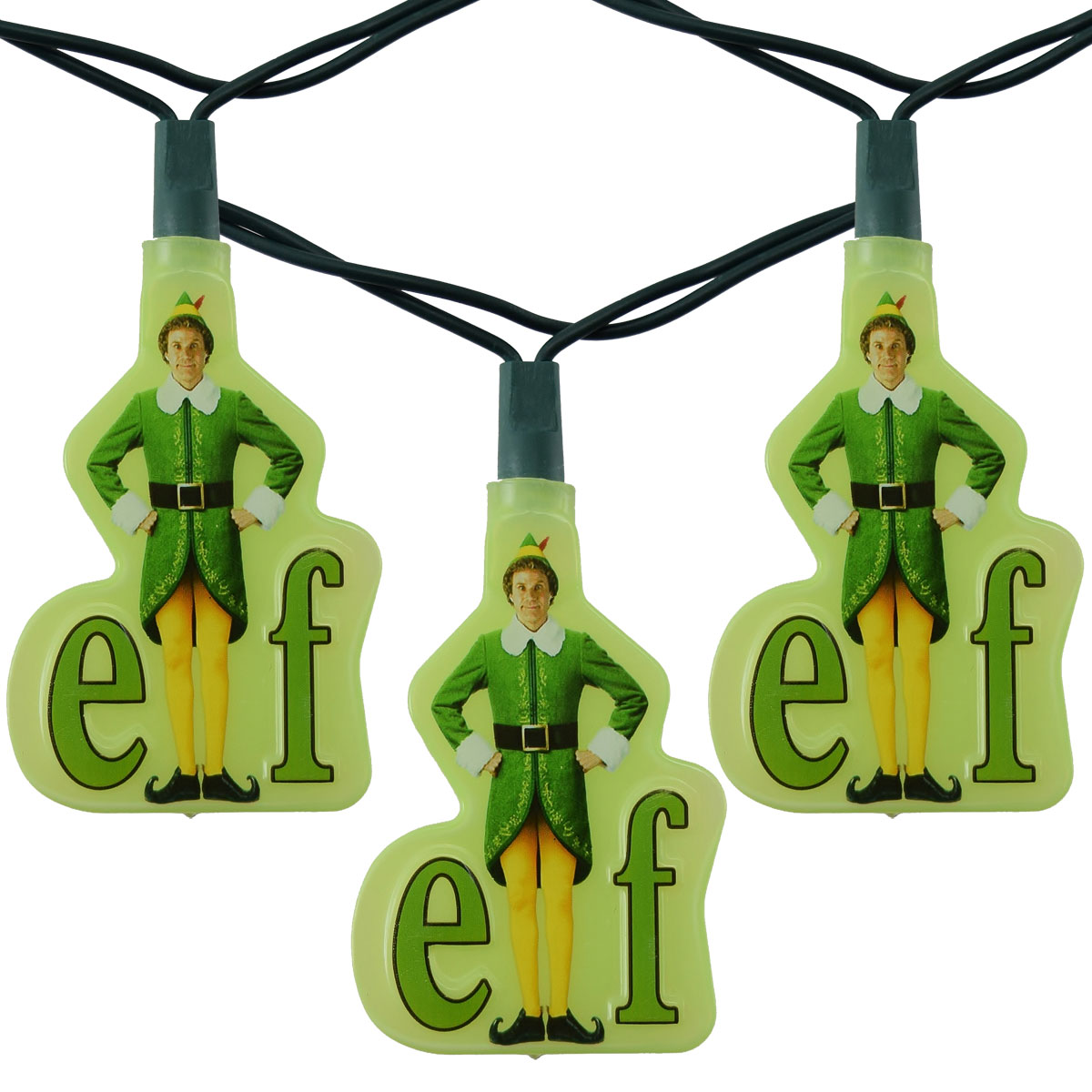 Elf the Movie Party String Lights - 10 Lights