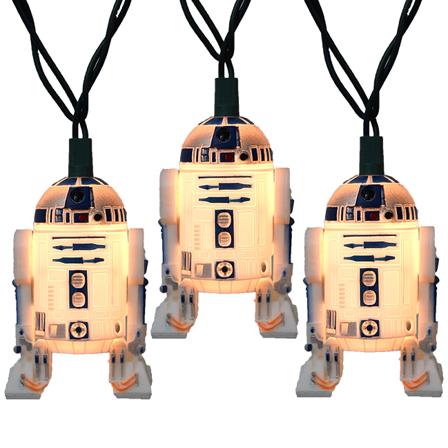 Star Wars R2D2 Party String Lights