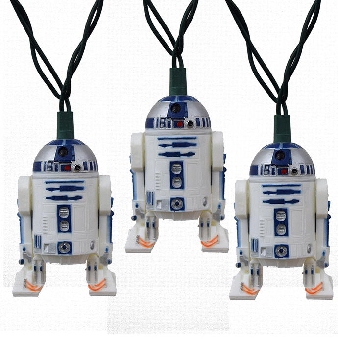 R2D2 Star Wars String Lights