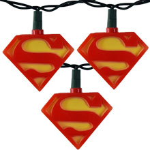 Superman Party String Lights SU9131