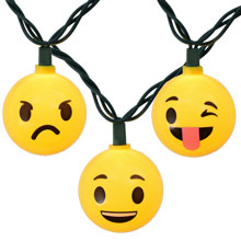 Emoji Character Party String Lights