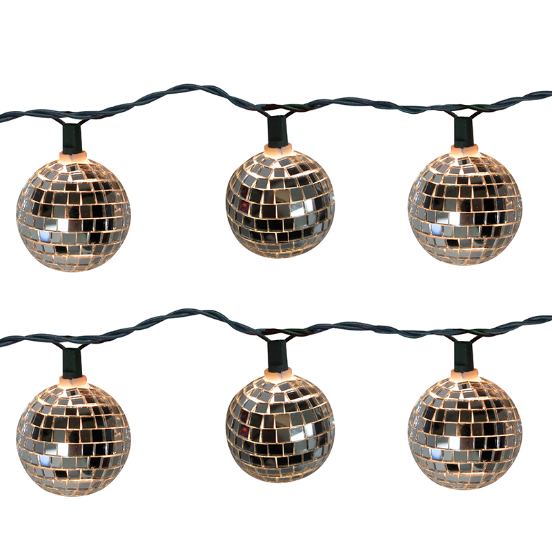 Disco Ball Party String Lights