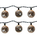 Disco Ball Party String Lights - 10 Lights - BS-61200