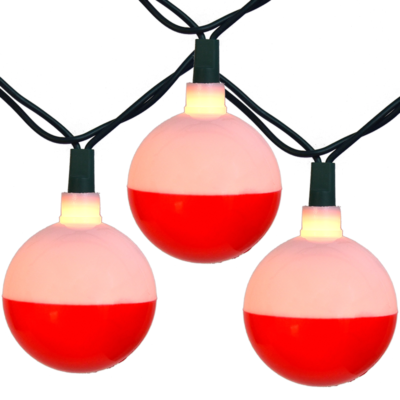 Fishing Bobber Party String Light Set - Camper String Light Strands & Sets