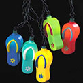 Flip Flops Party String Lights - UL1823