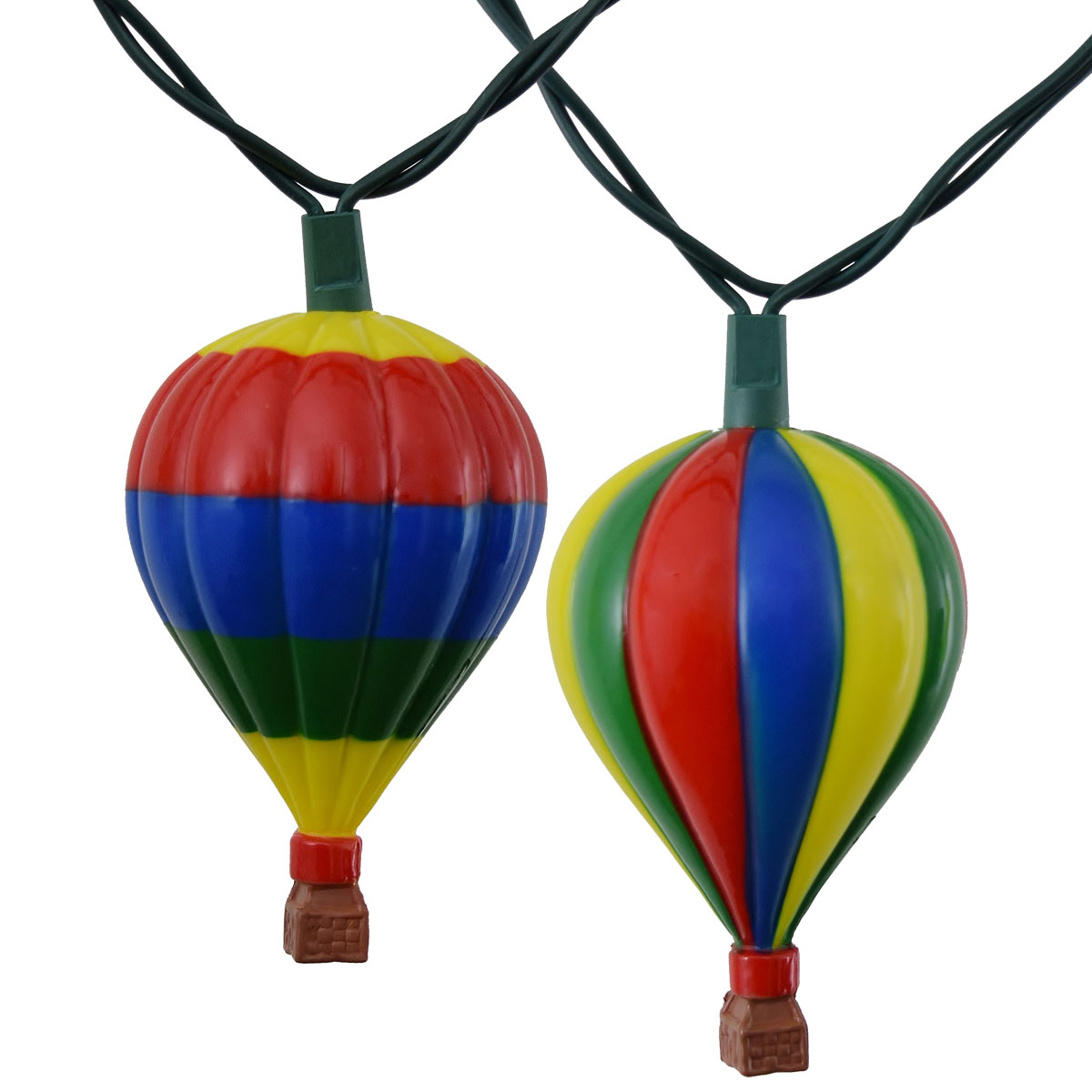 Monkey Party String Lights : Hot Air Balloon Novelty String Lights