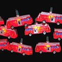 Red Fire Department Truck Party Lights Set - UL0697