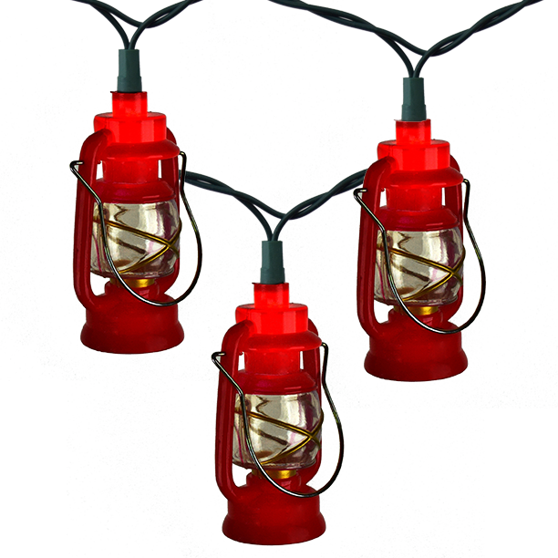 Red Lantern Party String Lights