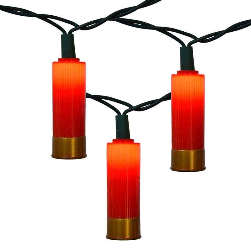Shotgun Shell Party String Lights