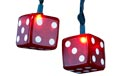 Playing Dice Party String Lights
