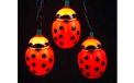 Ladybug party lights - Plastic