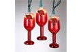 Wine Glass Party String Light Set - UL4240