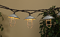 Silver Metal Wire Cage Party String Lights - 10 Lights - GC2201240