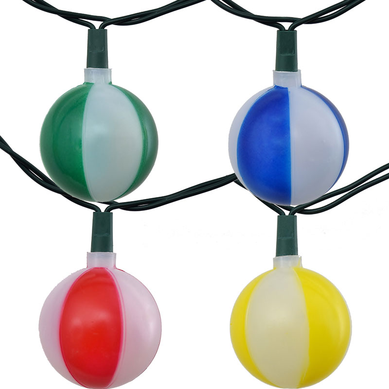 Beach Ball Novelty Party String Lights - 10 Lights