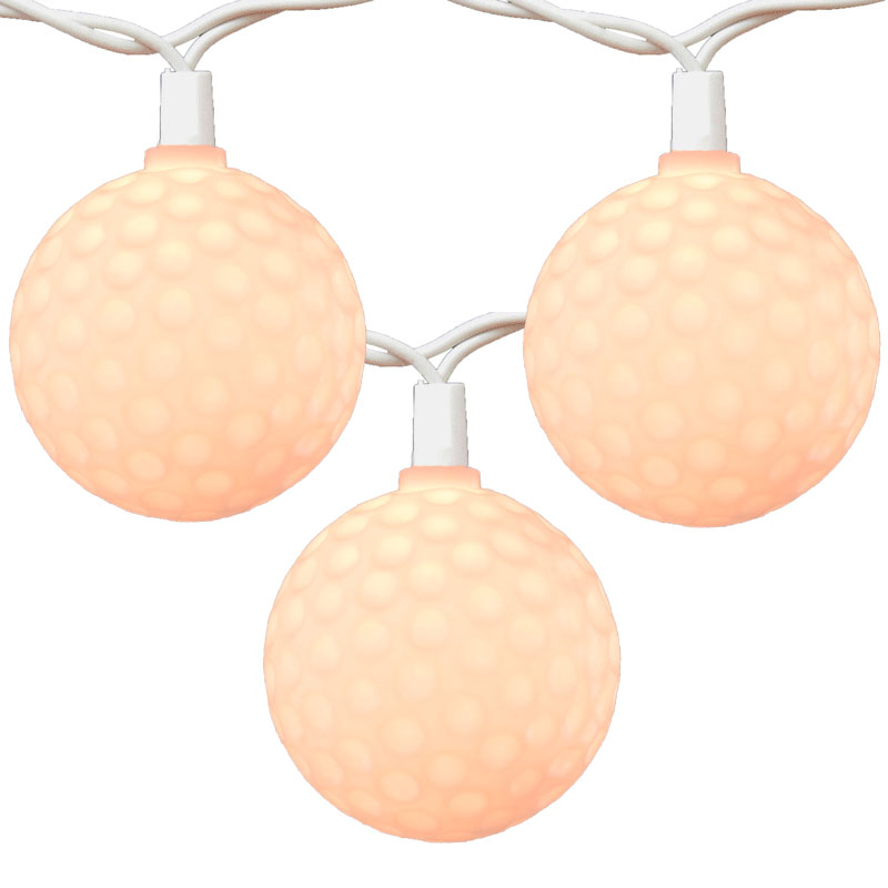 Golf Ball Party String Lights