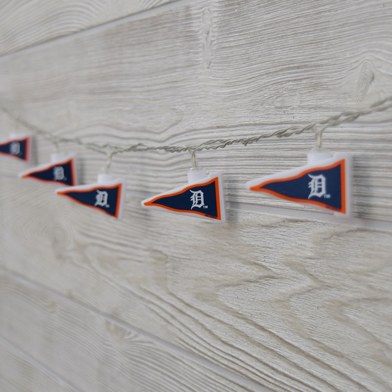 String Lights Tiger : MLB Detroit Tigers LED Pennant Lights - Battery Operated