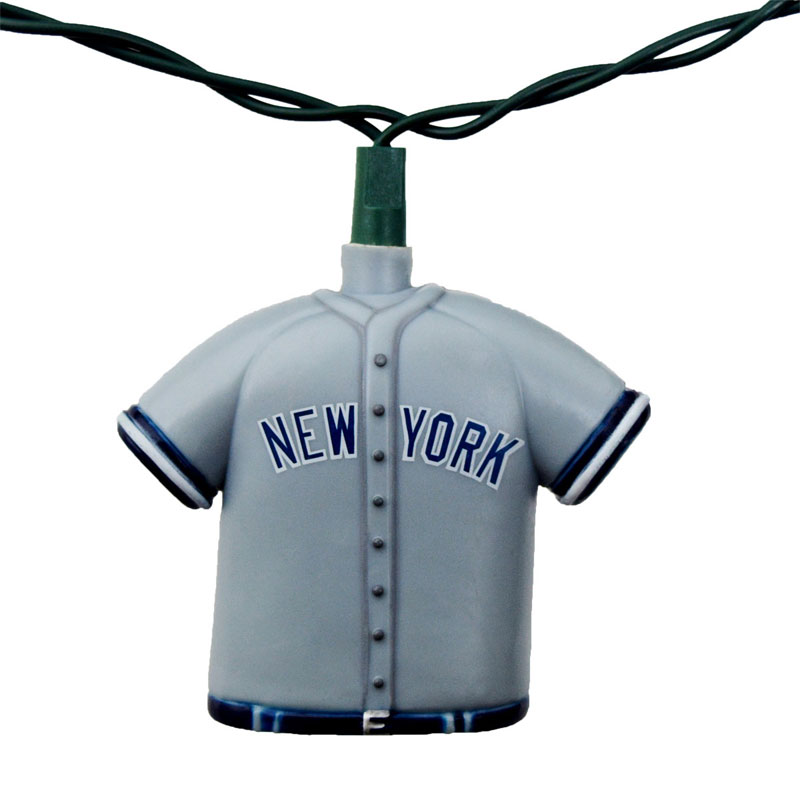 New York Yankees MLB Baseball Uniform Party String Lights