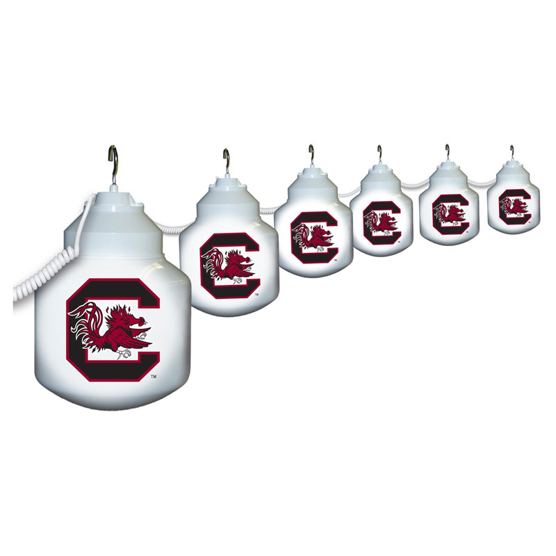 South Carolina Gamecocks Globe String Light Set