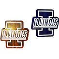 University Of Illinois Fighting Illini NCAA College Logo String Lights - MD-ILL