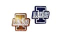 University Of Illinois Fighting Illini NCAA College Logo Party String Lights - MD-ILL