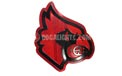 University of Louisville Cardinals NCAA College Logo Party String Lights - MD-LOUIS