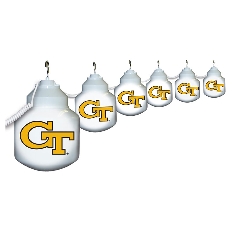 10 Globe GT Yellow Jackets String Lights