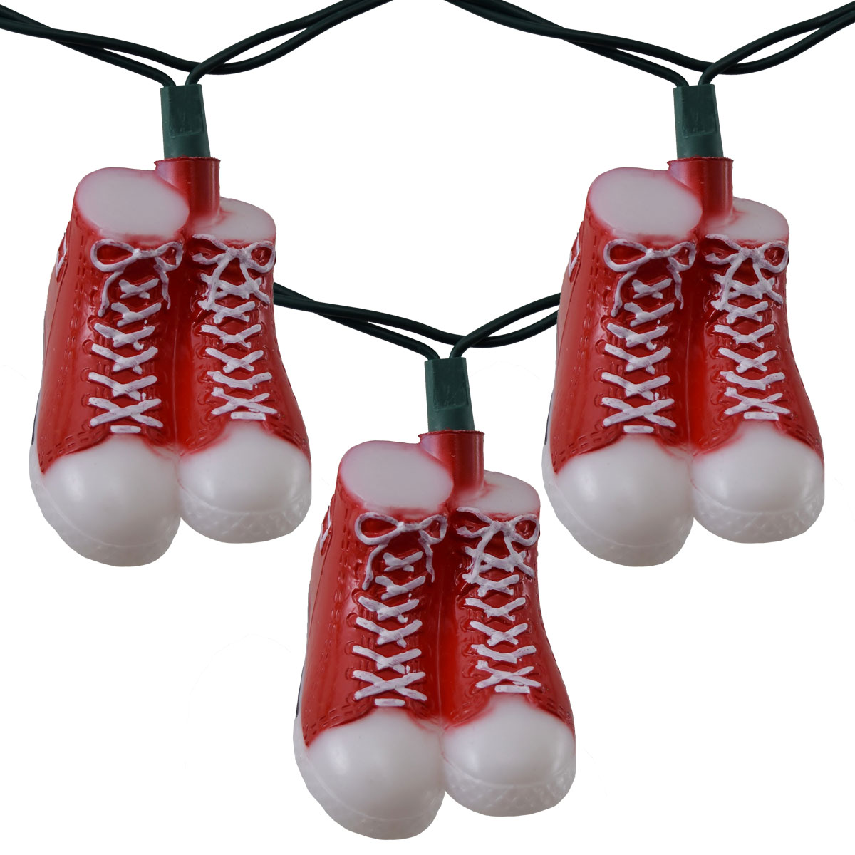 Red High Top Sneaker Party String Light