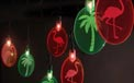 Tropical Island Silhouettes Party String Lights - 440803