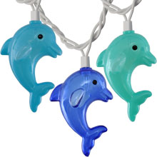 Dolphin Party String Lights