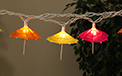 Mini Umbrella Party String Lights - 10 Lights - GC2201160