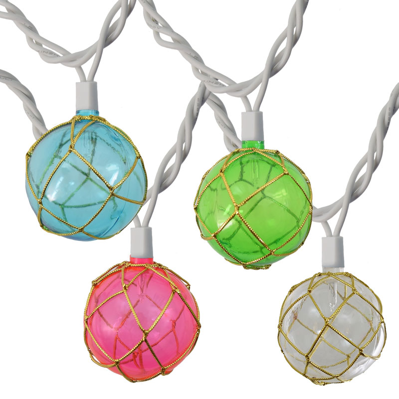 Colorful String Lights : Pastel Colored Float String Lights