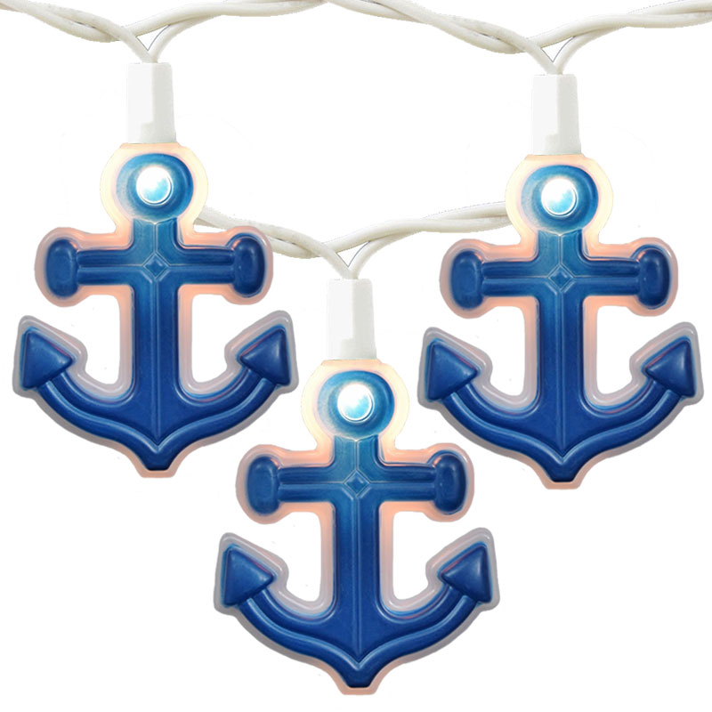Nautical anchor novelty lights