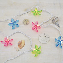 Acrylic Plastic Flower String Lights
