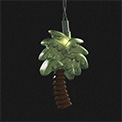 Tropical Palm Tree Party String Lights - UL0660